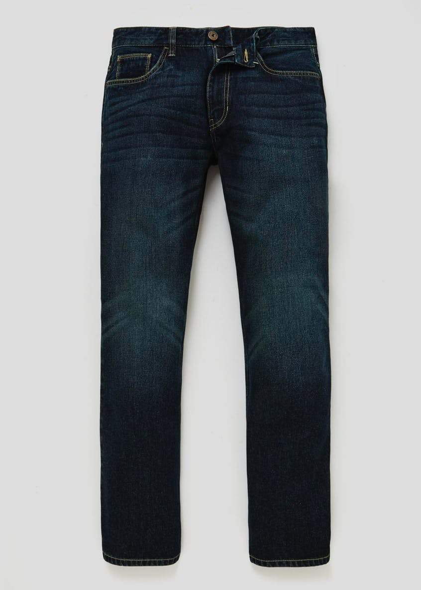 Bootcut Fit Darkwash Jeans