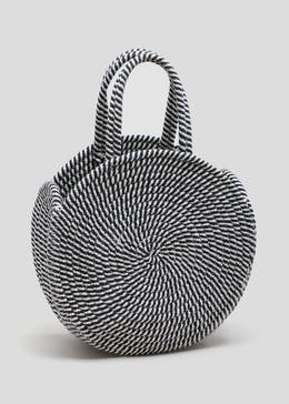Stripe Rope Circle Bag