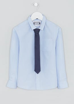 Boys Shirt & Tie Set (4-13yrs)