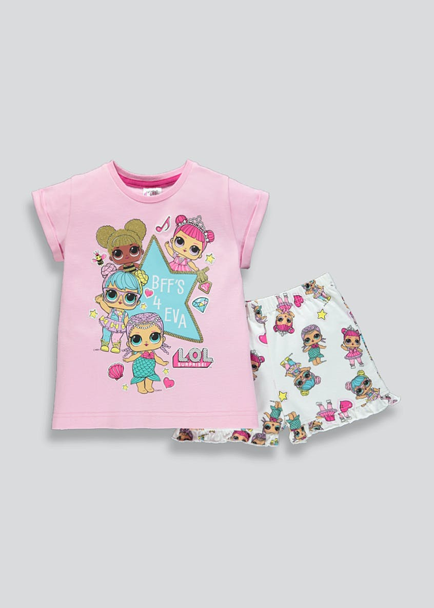 Girls L.O.L. Surprise Short Pyjama Set (4-10yrs)