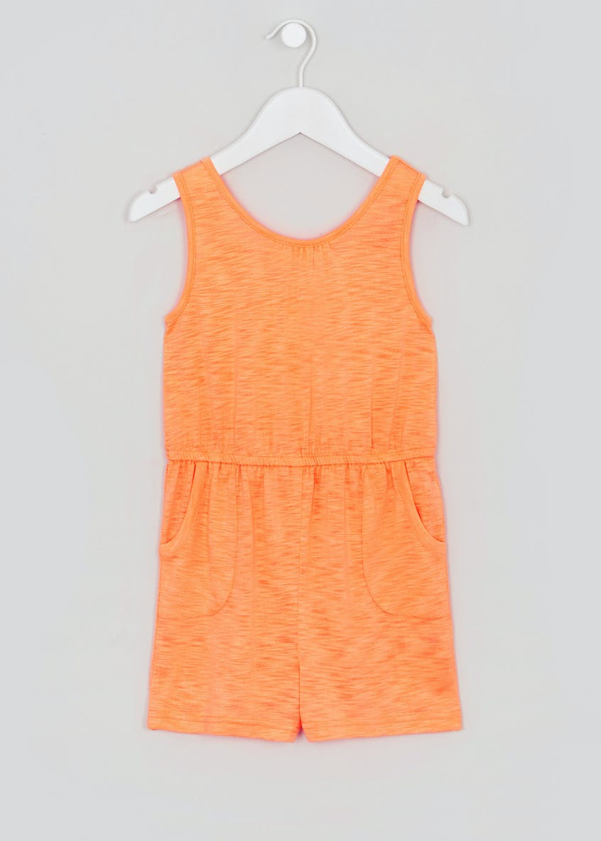 Girls Jersey Playsuit (4-13yrs)