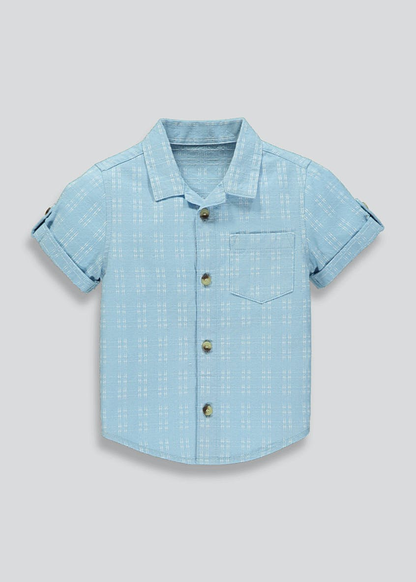 Boys Revere Collar Shirt (9mths-6yrs)
