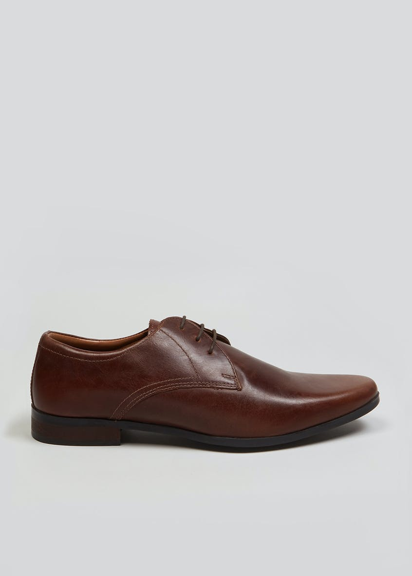 Real Leather Pointed Shoes