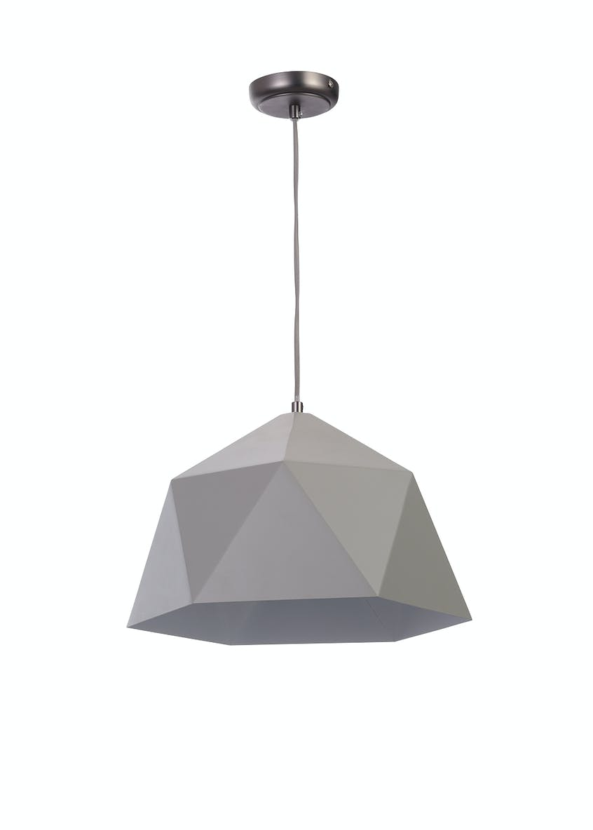 Ria Geometric Pendant Light (H100cm x W38cm)