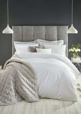 Farhi by Nicole Farhi 100% Cotton Percale Duvet Cover