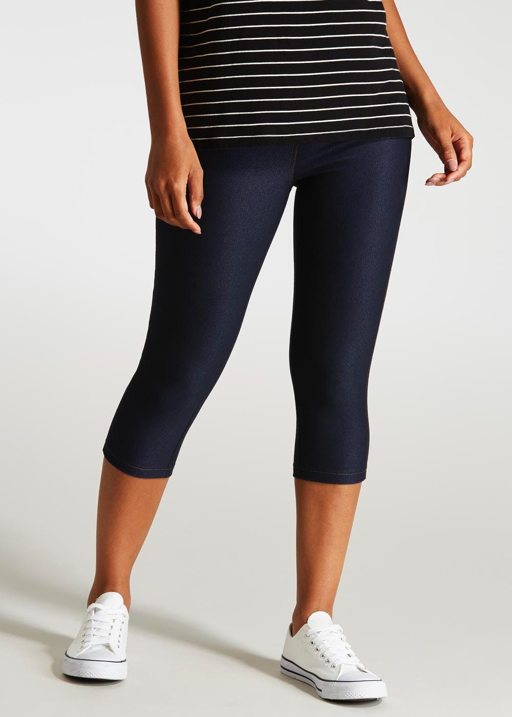 select for best select for latest where can i buy Cropped Denim Leggings
