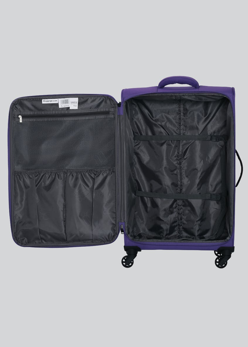 IT Luggage Soft Suitcase