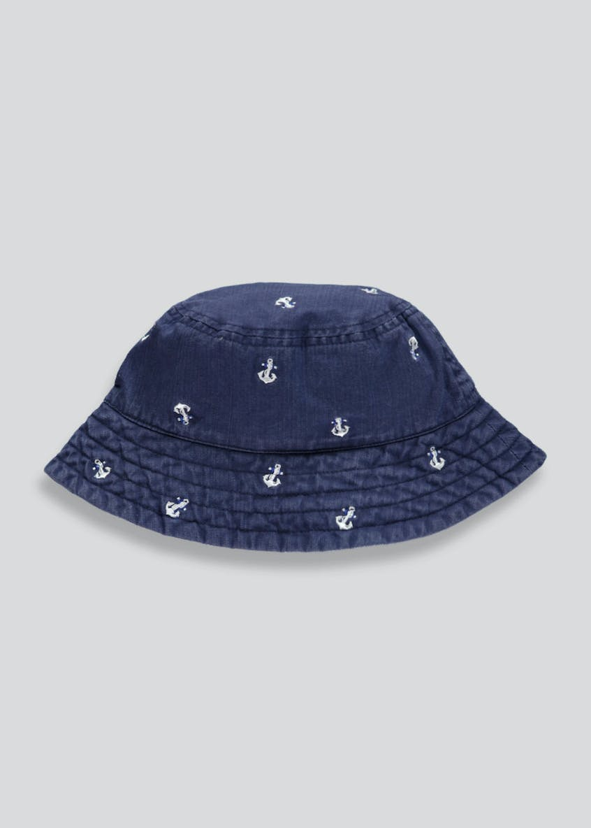 Kids Anchor Sun Hat (Newborn-23mths)