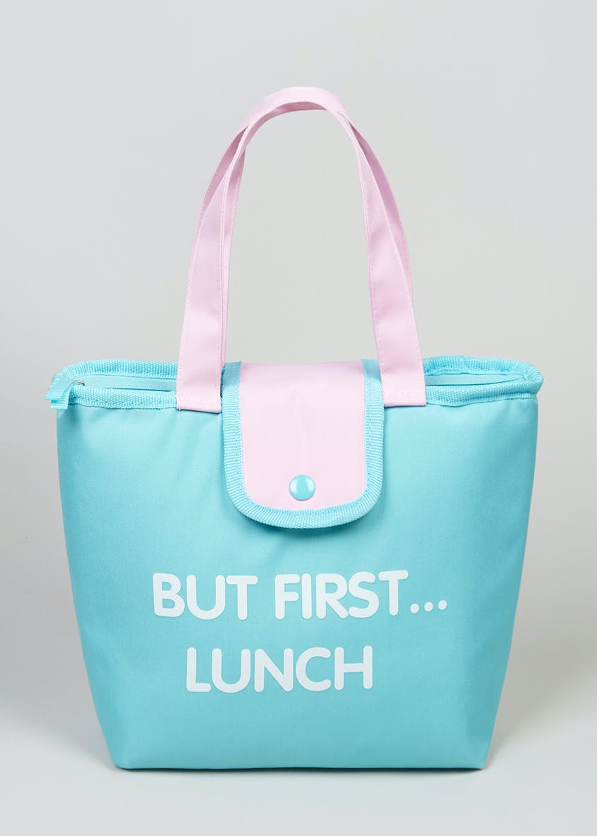 Slogan Lunch Bag (23cm x 30cm x 10cm)