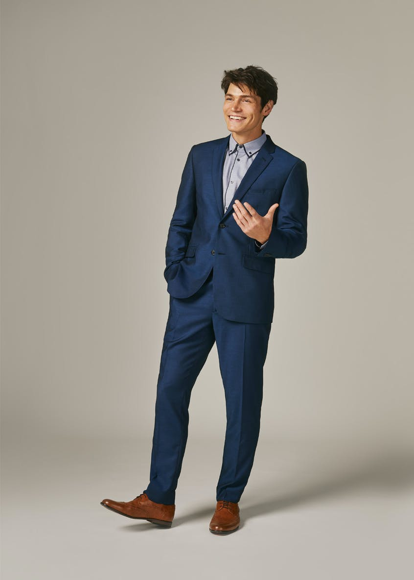 Jones Slim Fit Stretch Suit Trousers