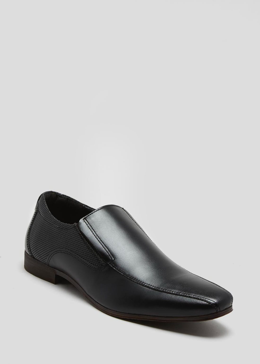 Real Leather Tramline Smart Shoes