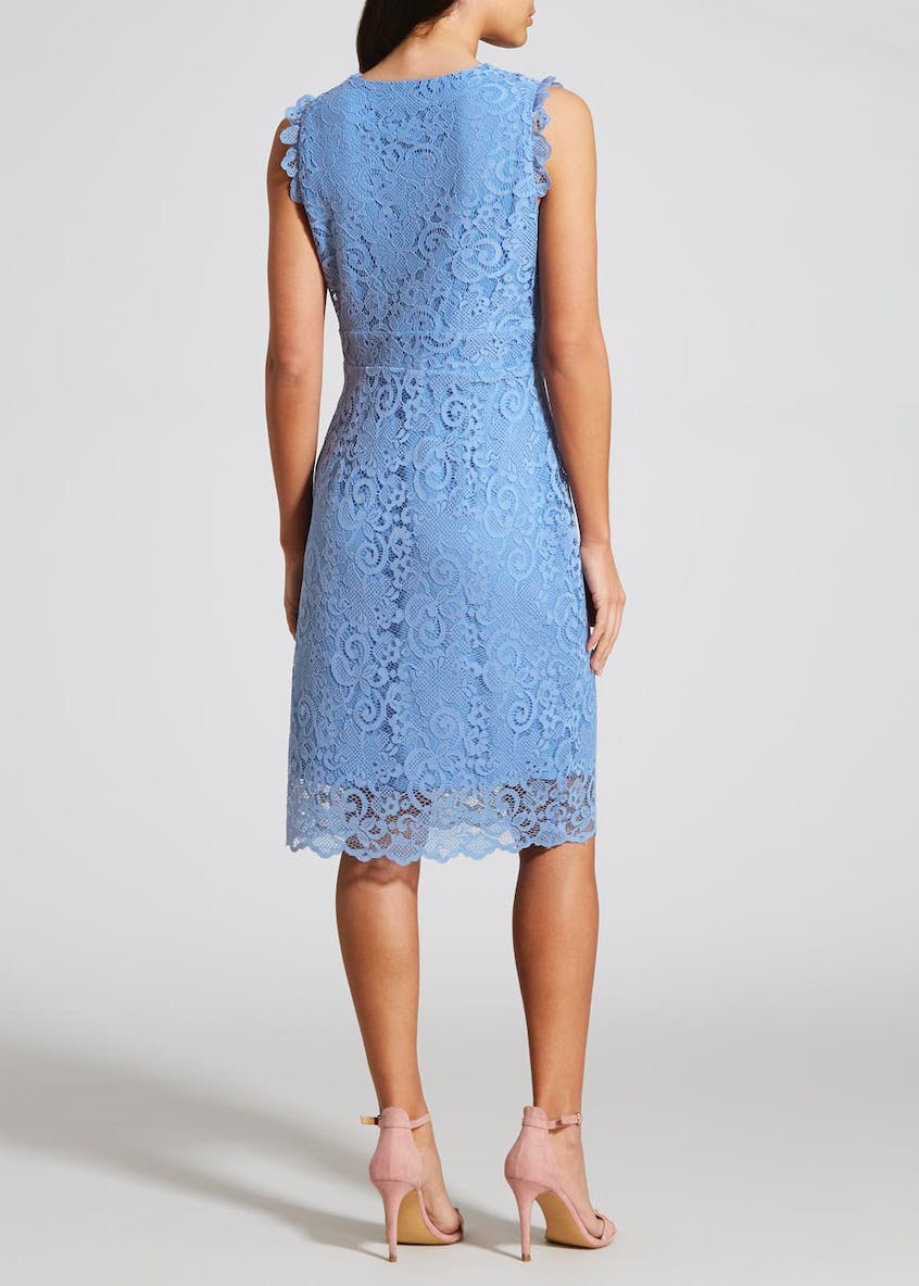 Lace Occasion Midi Dress