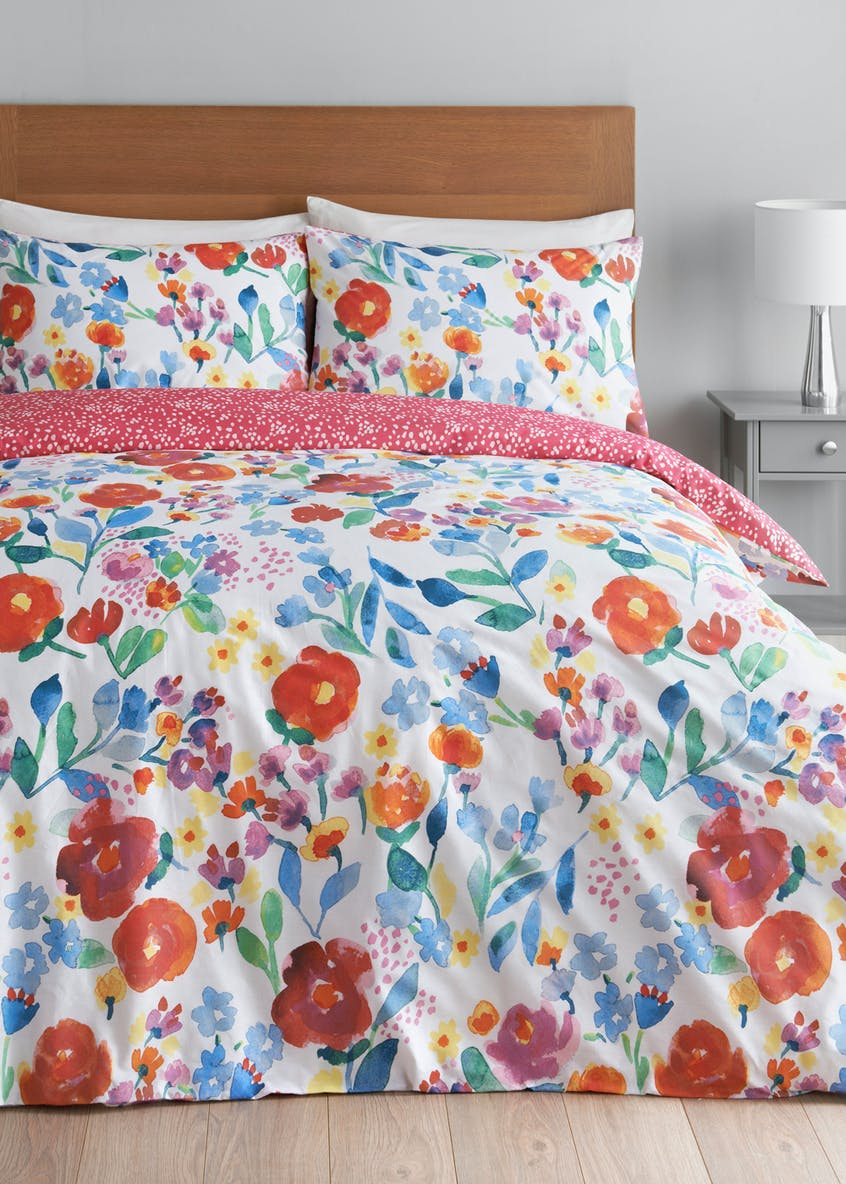 Tropical Floral Duvet Cover