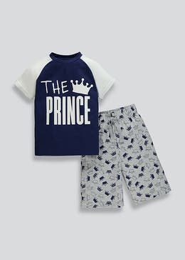 Boys Prince Family Pyjama Set (2-13yrs)