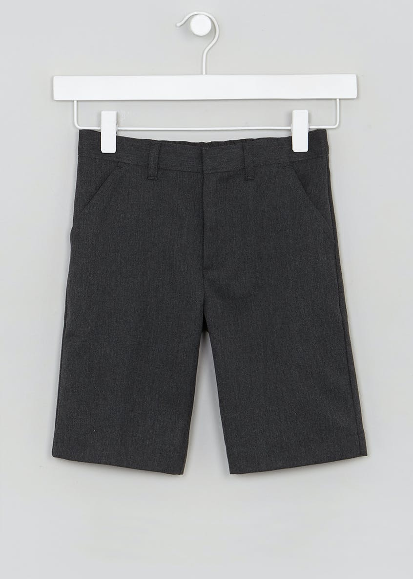 Boys Slim School Shorts (3-13yrs)