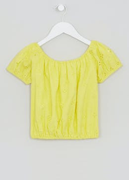 Girls Candy Couture Schiffley Bardot Top (9-16yrs)