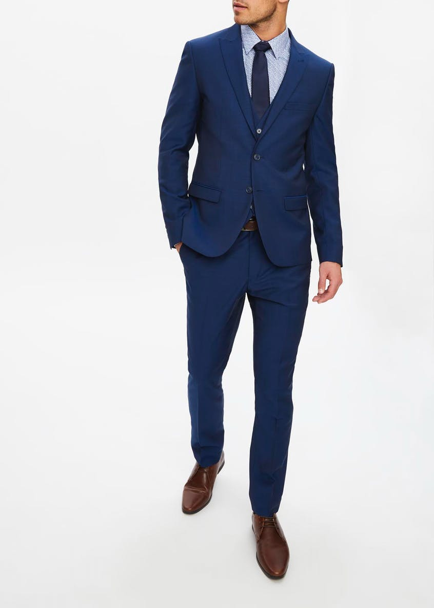 Taylor & Wright Newton Wool Blend Skinny Fit Suit Jacket