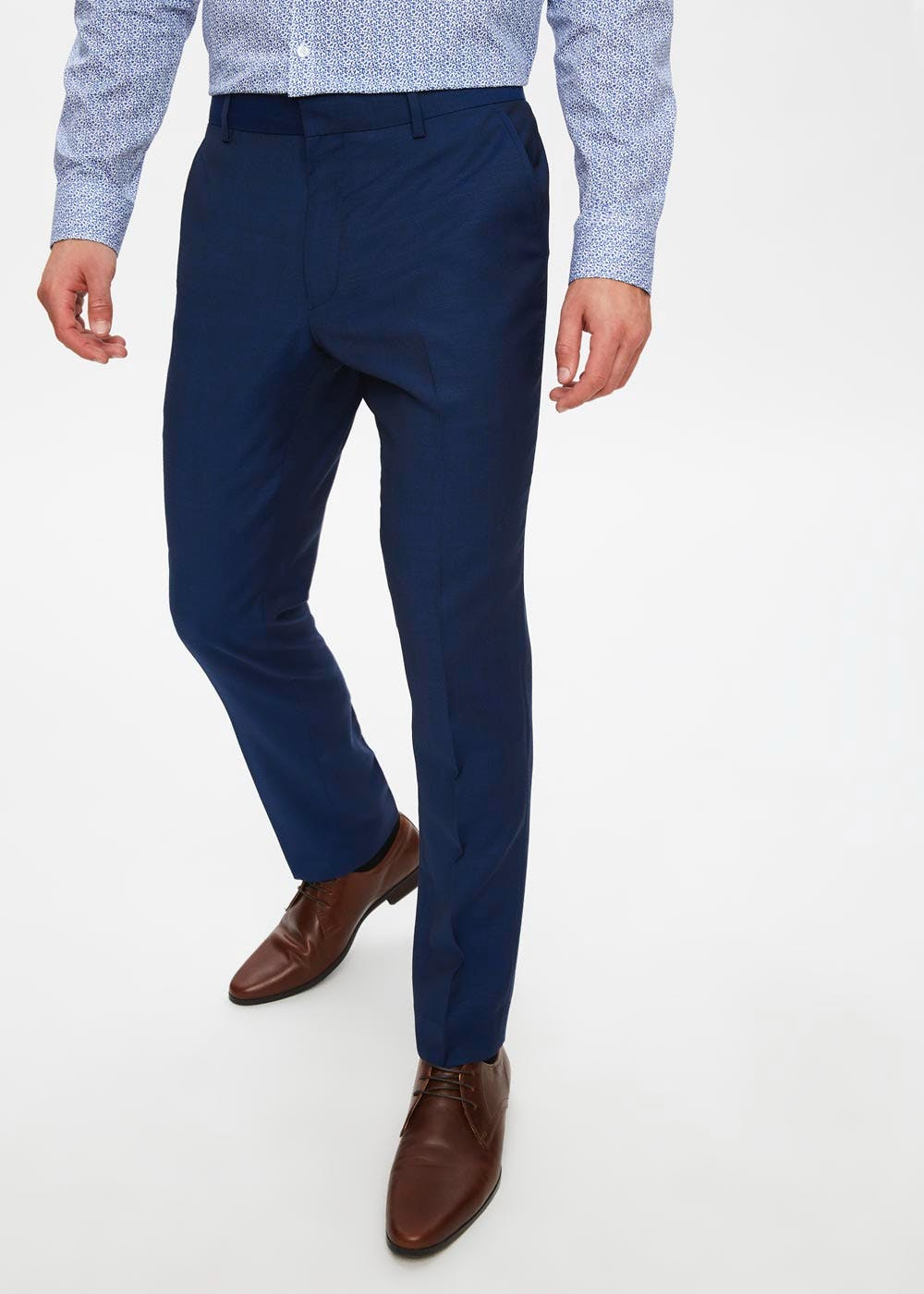 Newton Wool Blend Skinny Fit Trousers by Matalan