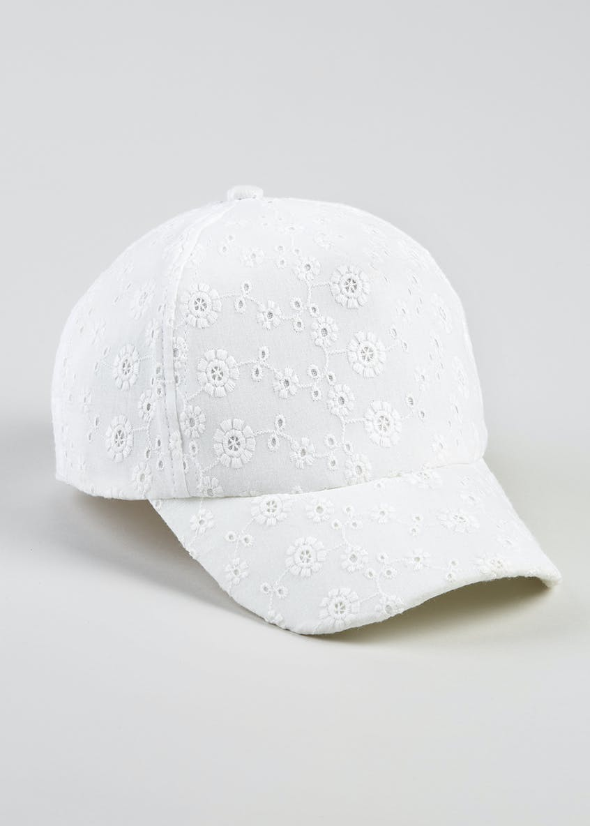 Girls Embroidered Cap (3-13yrs)