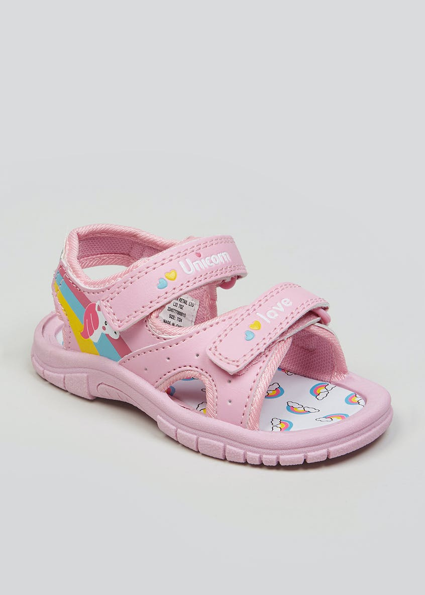 Kids Unicorn Adventure Sandals (Younger 4-9)