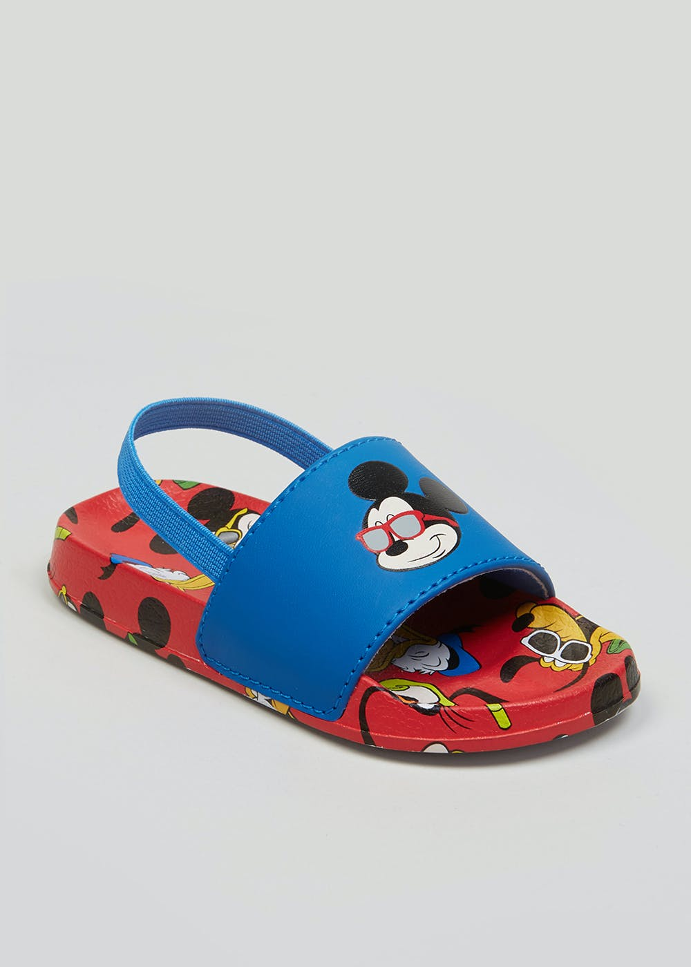 401aec8d3 Kids Disney Mickey Mouse Sliders (Younger 4-12) – Blue – Matalan