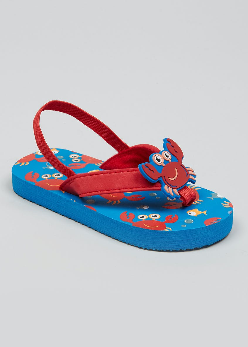Kids Crab Flip Flops (Younger 4-12)