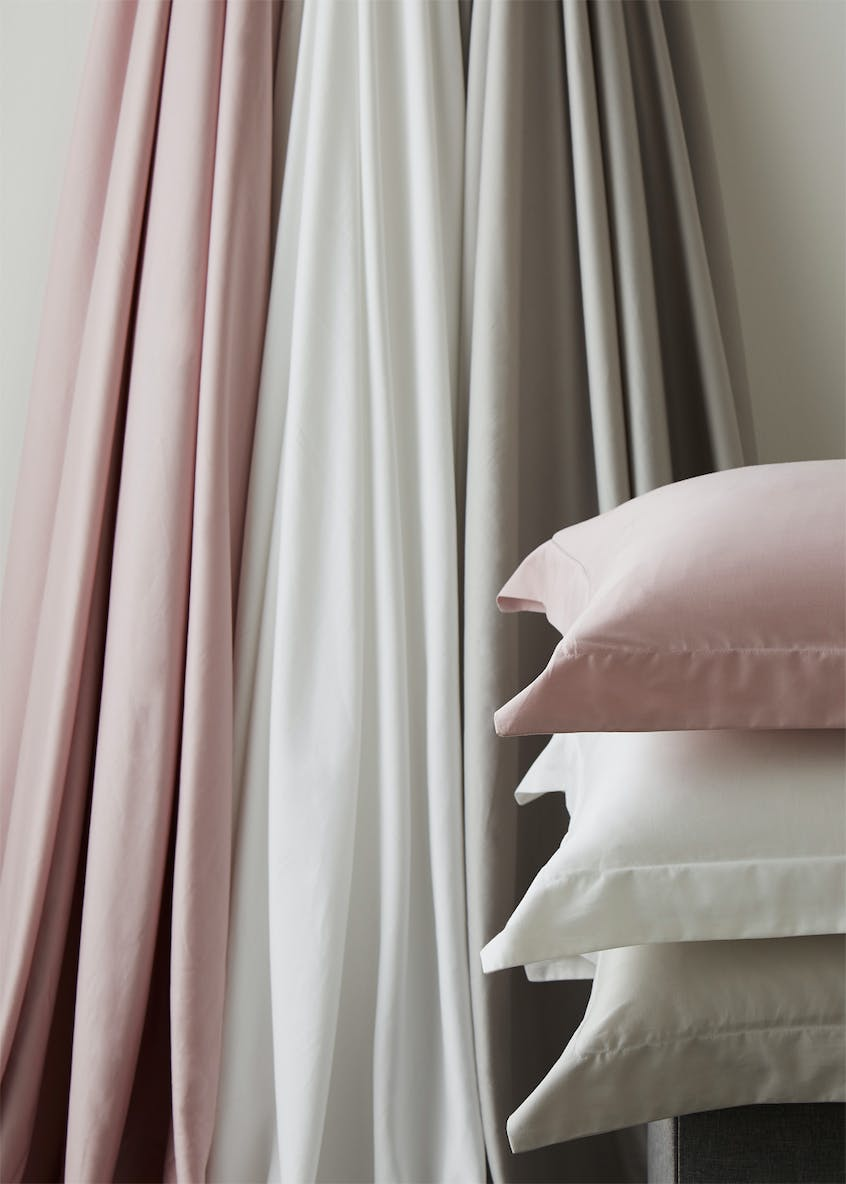 Farhi by Nicole Farhi 100% Cotton Oxford Pillowcase Pair (400 Thread Count)