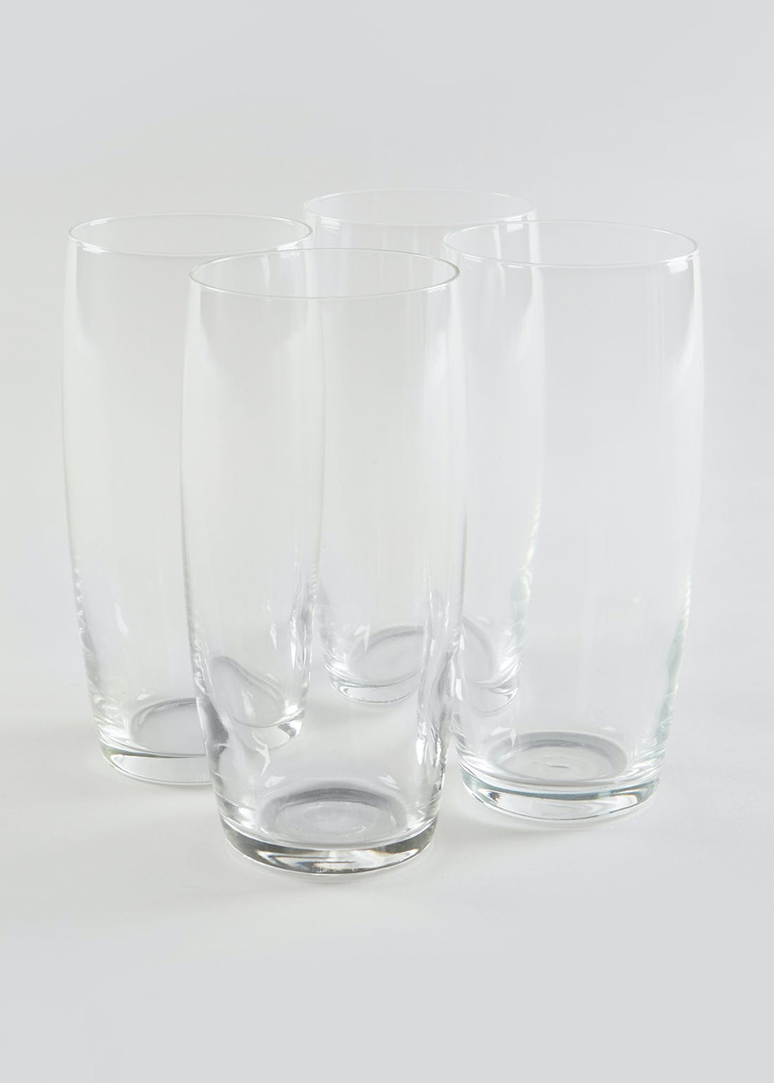 4 Pack Hi Ball Tumbler Glasses