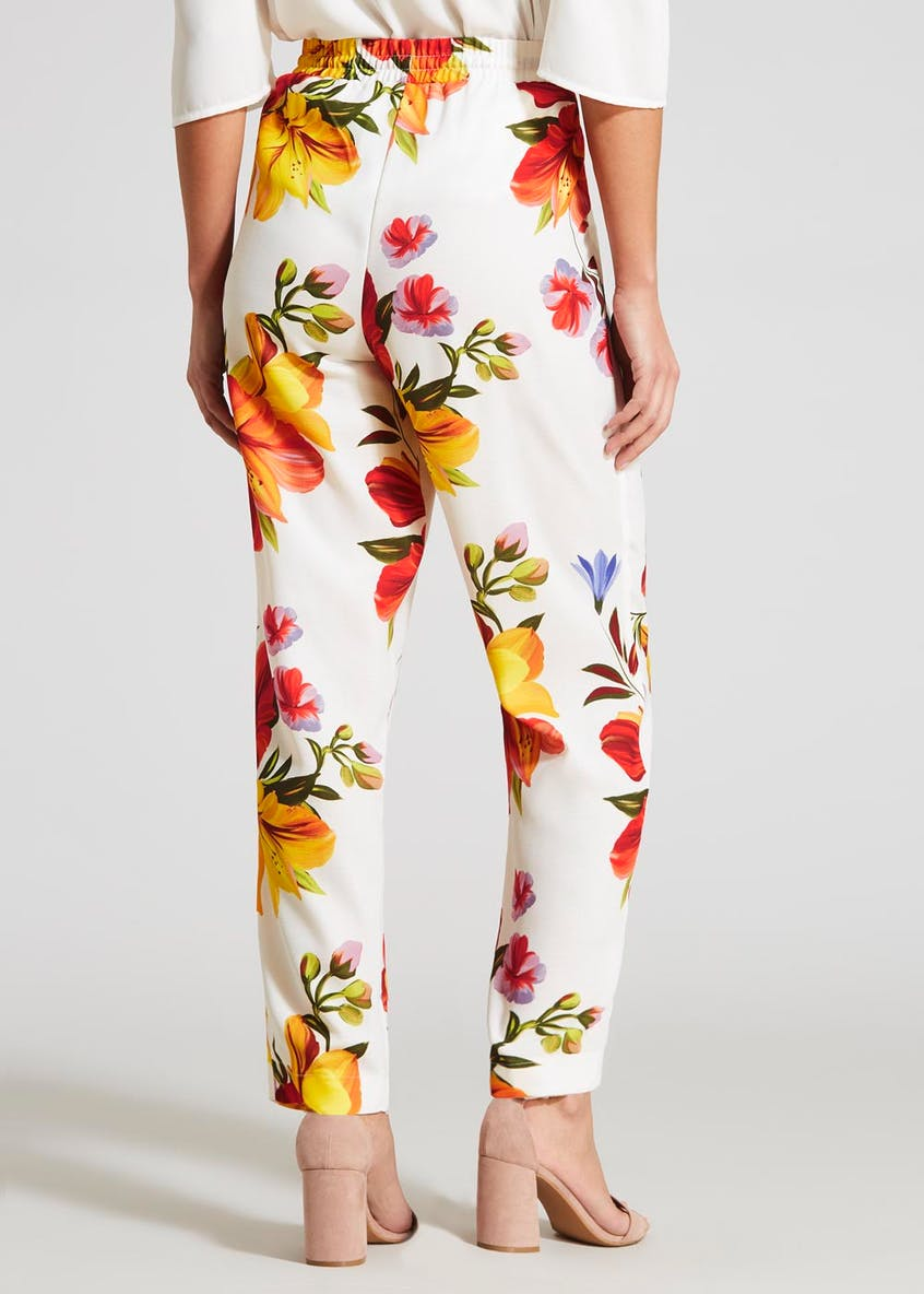Soon Floral Tapered Trousers