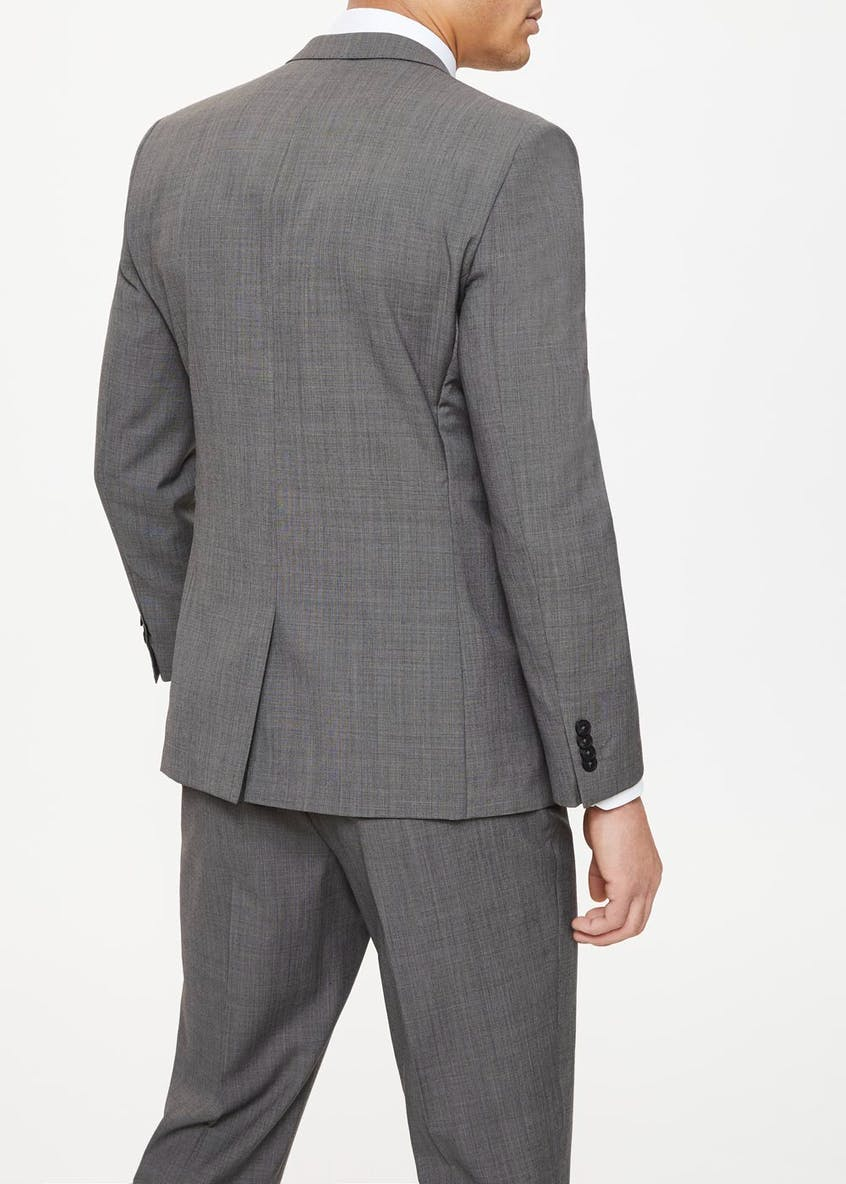 Edison Wool Blend Regular Fit Suit Jacket