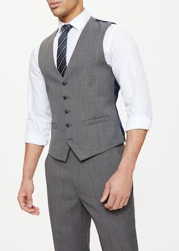 Edison Wool Blend Regular Fit Suit Waistcoat