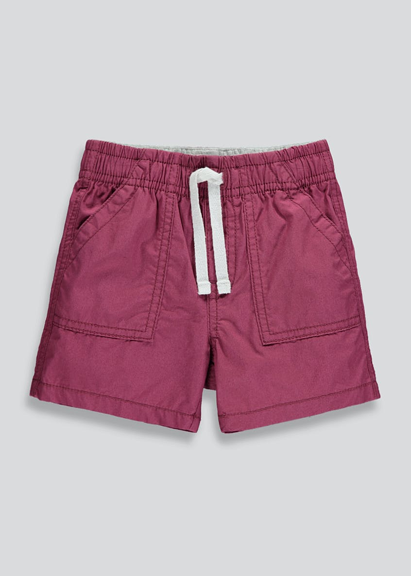 Boys Poplin Shorts (9mths-6yrs)