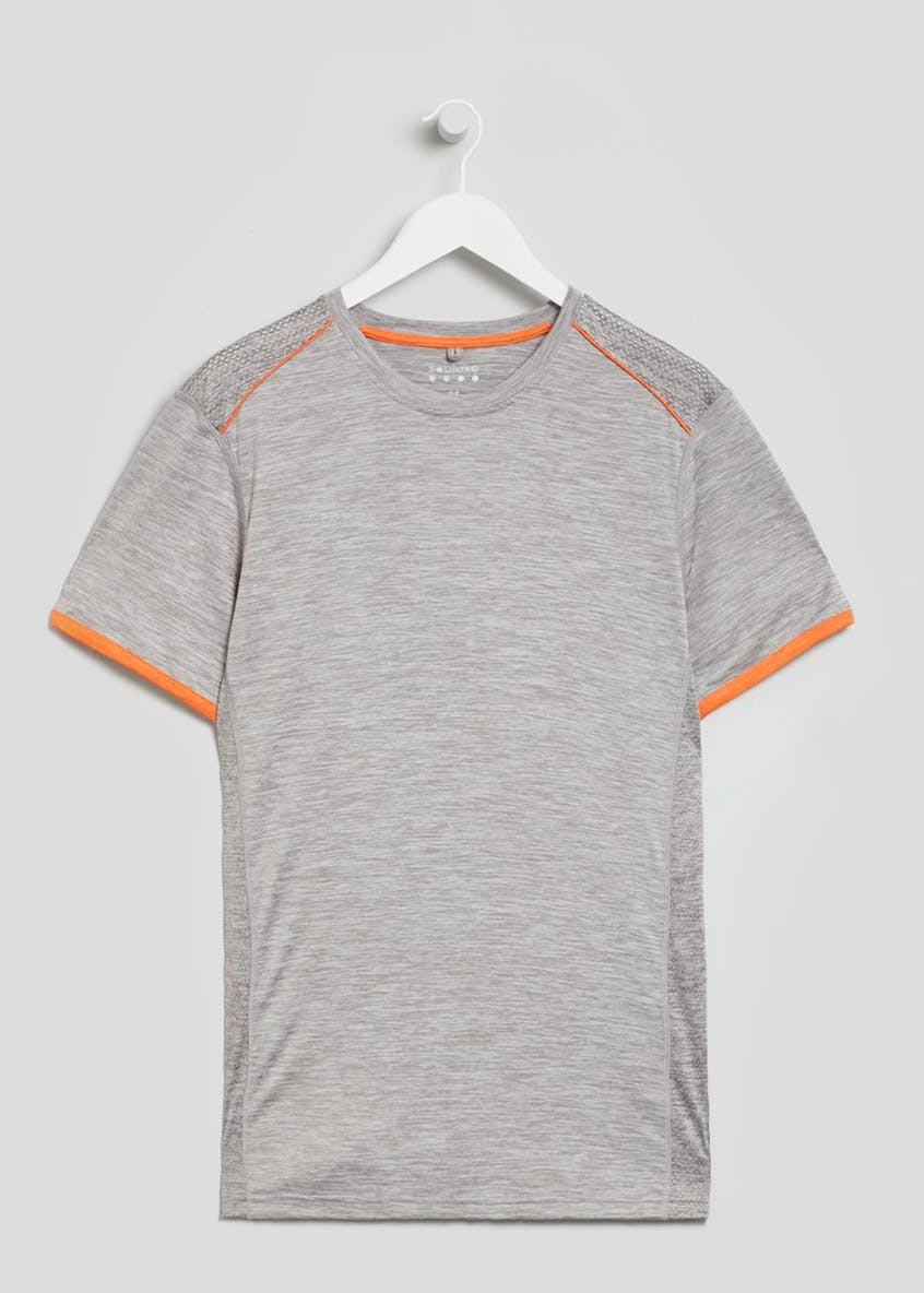Souluxe Tipped Sleeve Sports T-Shirt