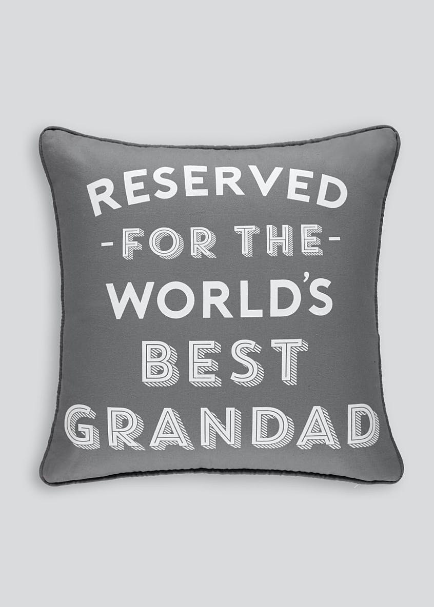 Father's Day Grandad Cushion (43cm x 43cm)