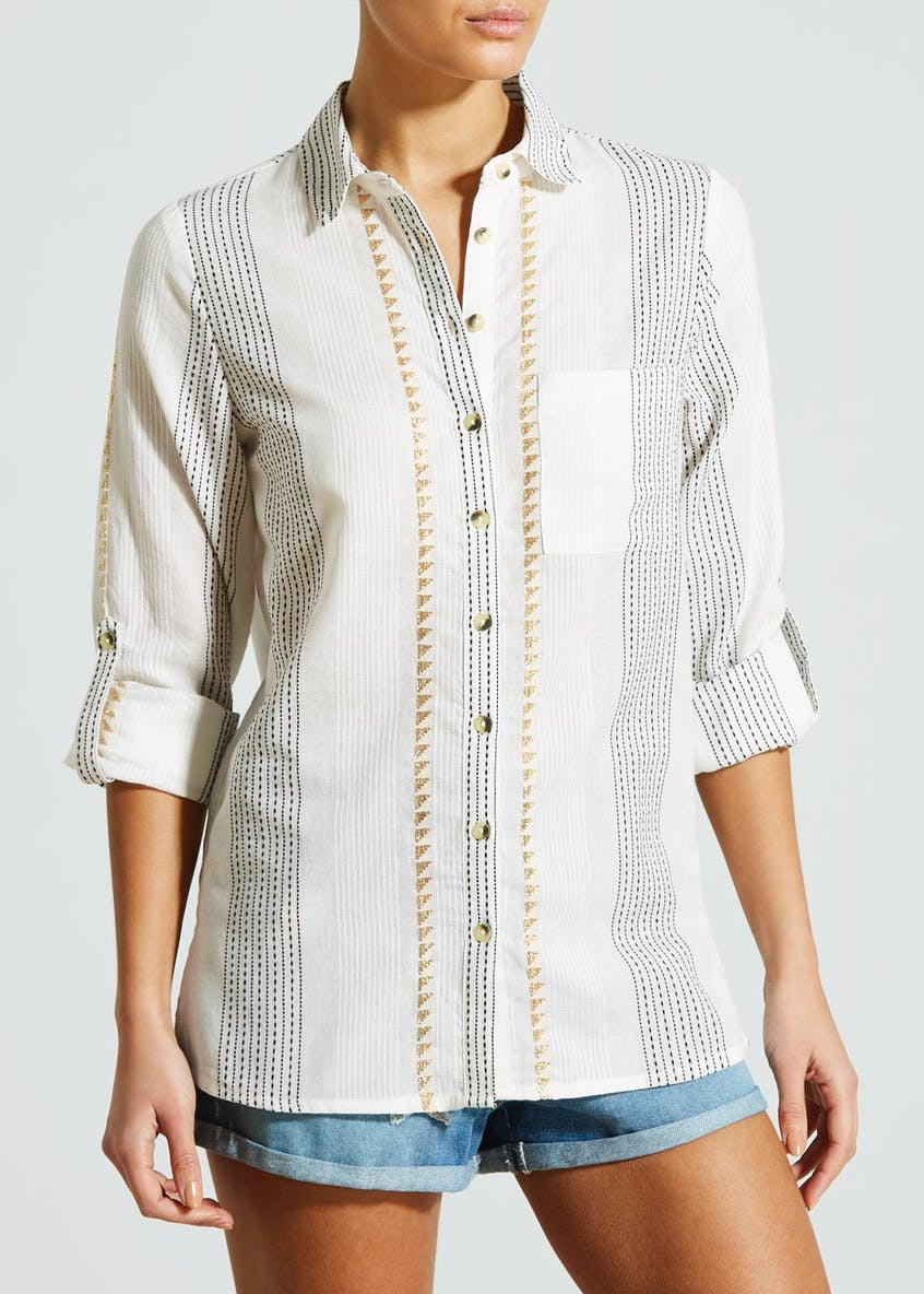 Falmer Metallic Stripe Shirt