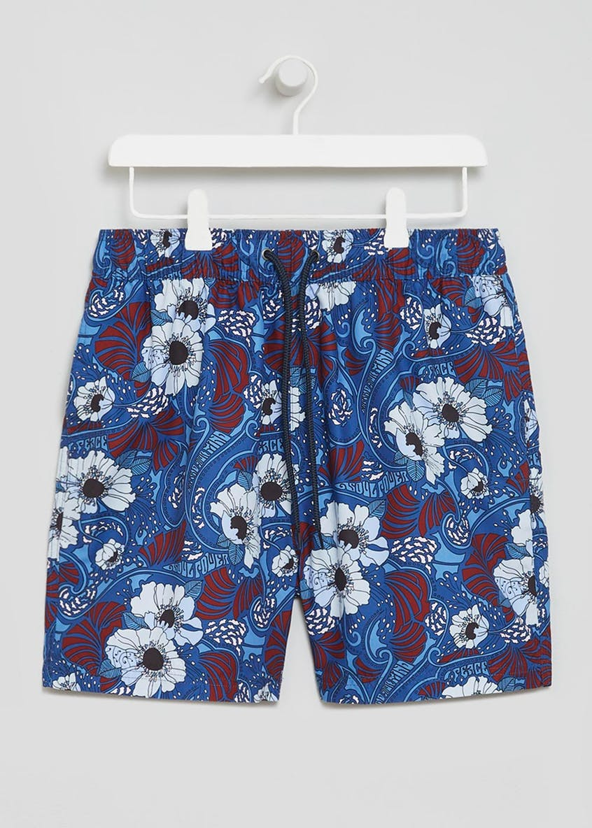 Ben Sherman Floral Swim Shorts