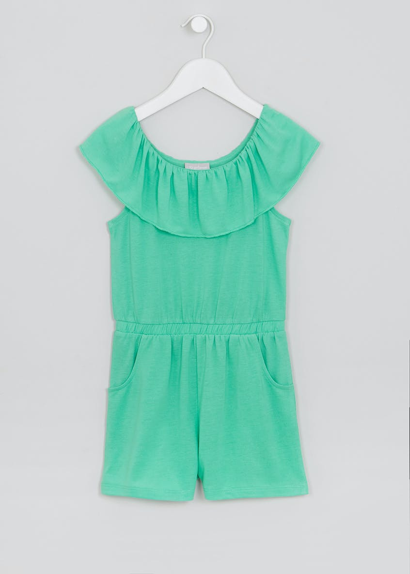 Girls Bardot Playsuit (4-13yrs)