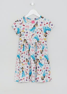 Girls Disney Jasmine Jersey Dress (2-9yrs)