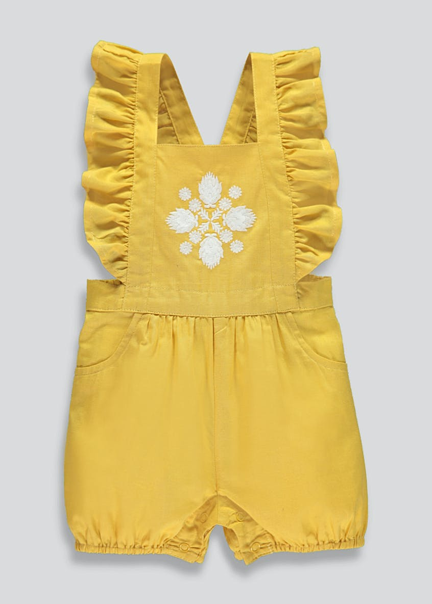 Girls Frill Romper (Newborn-18mths)