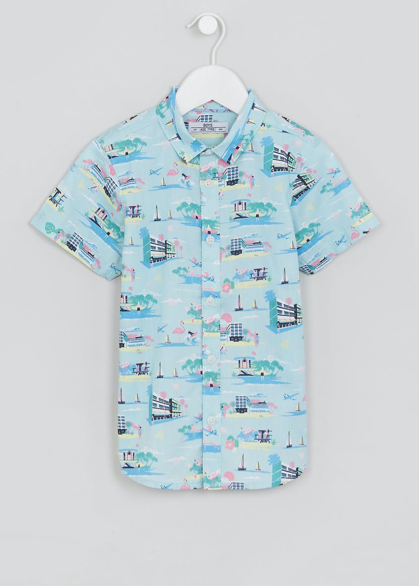 Boys Miami Shirt (4-13yrs)
