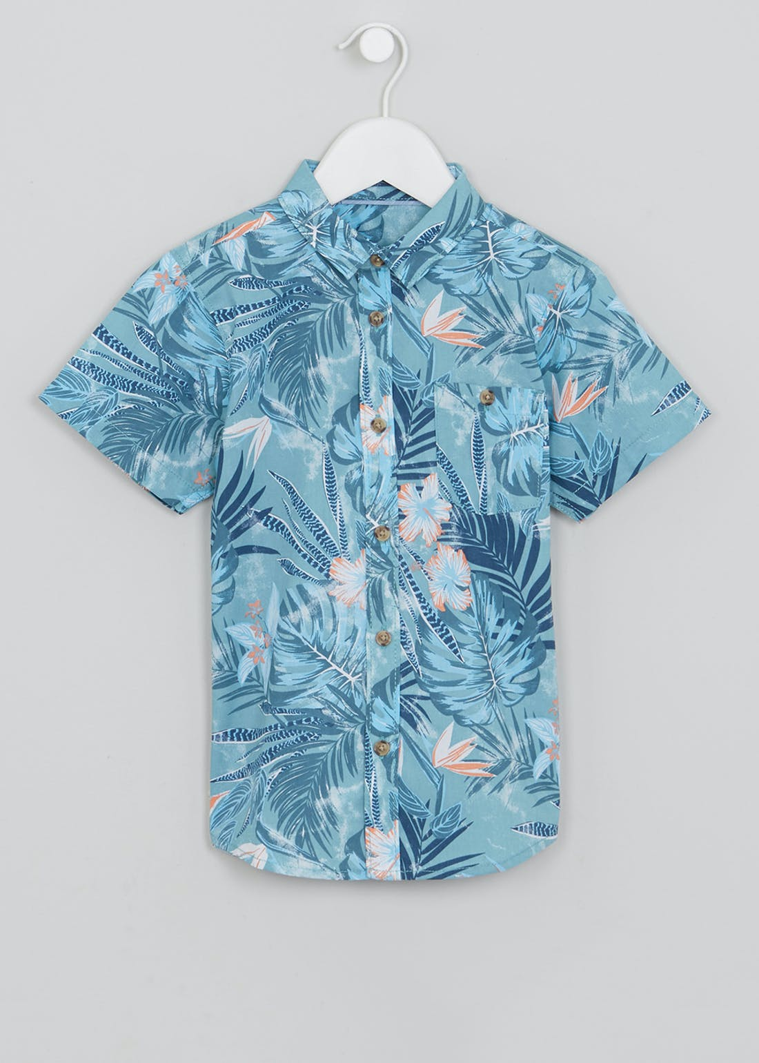 Boys Tropical Shirt (4-13yrs)