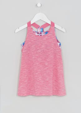 Girls Souluxe 2 in 1 Sports Vest (4-13yrs)