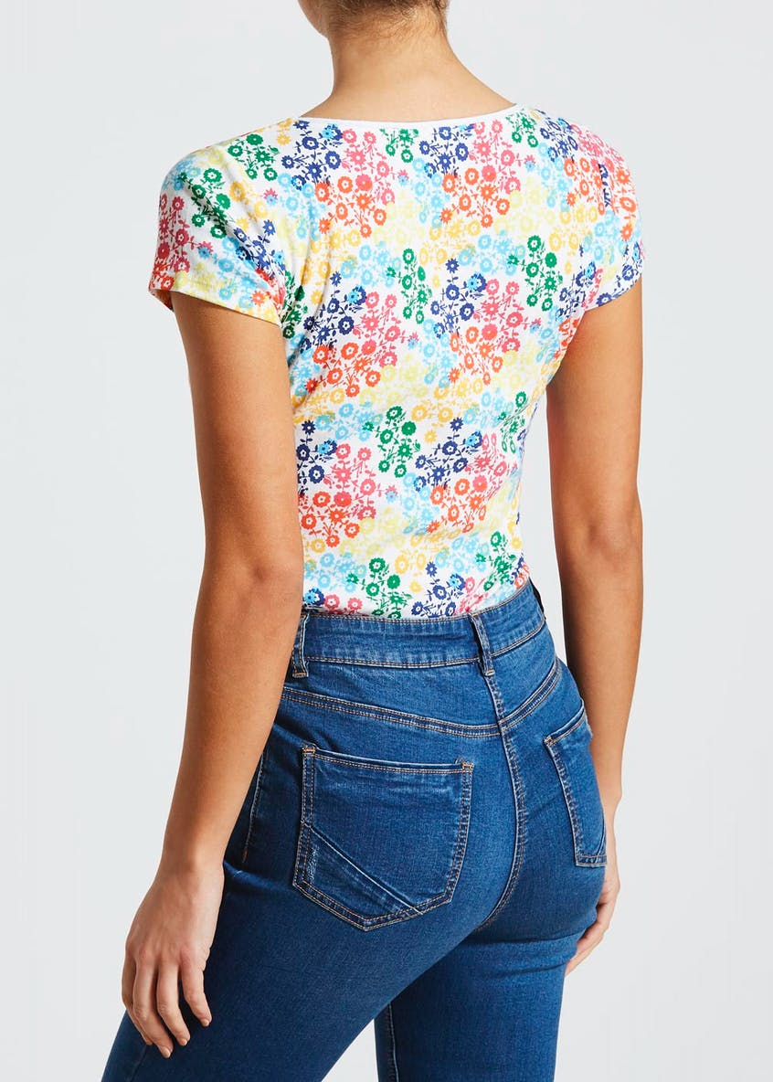 Floral Short Sleeve T-Shirt