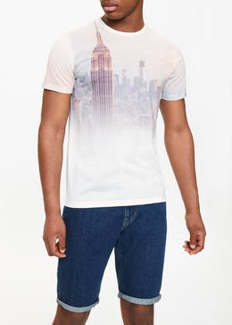 New York Sublimation Print T-Shirt