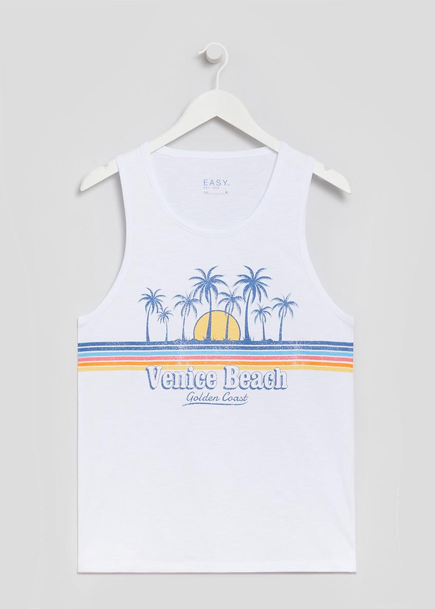 Venice Beach Graphic Print T-Shirt