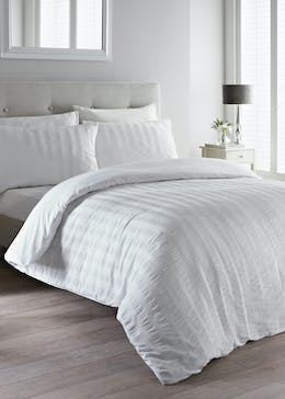 Cotton Rich Seersucker Duvet Cover
