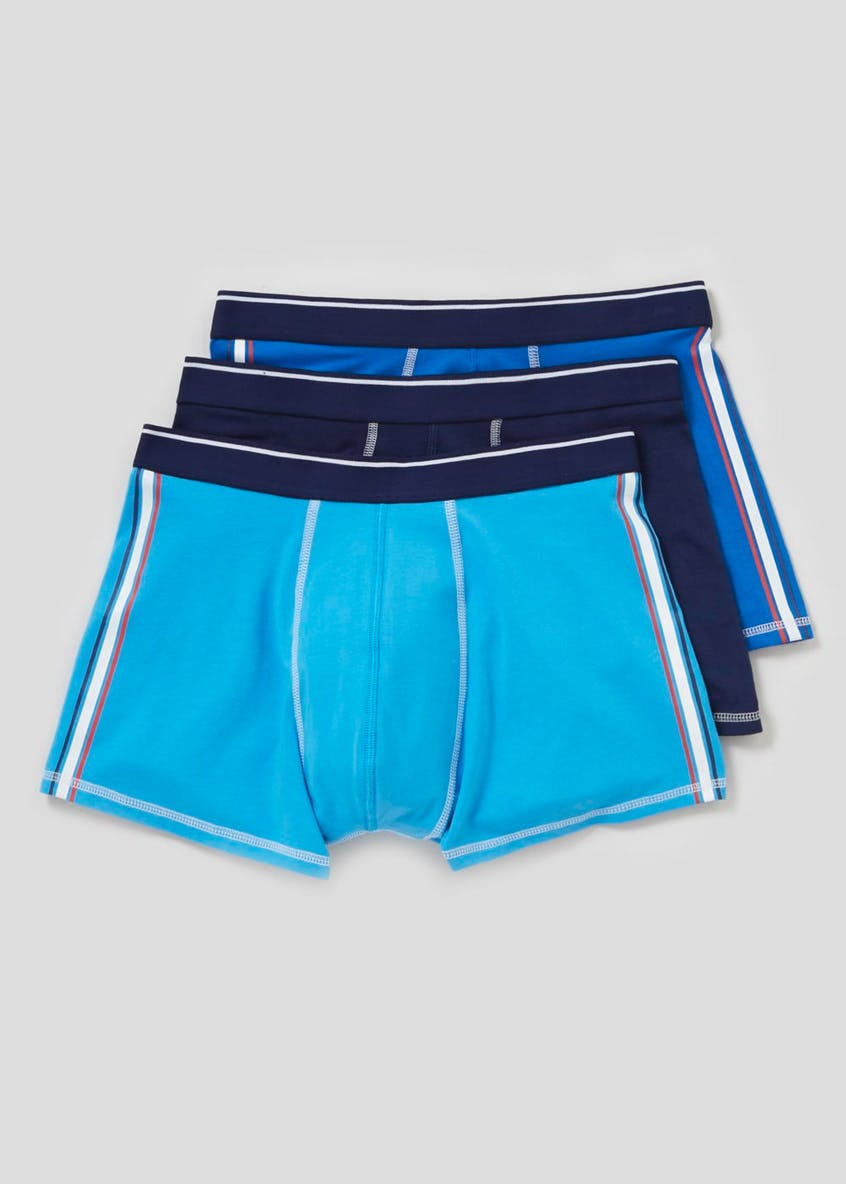 3 Pack Stripe Hipster Boxers