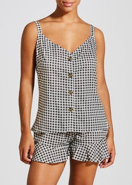 Gingham Short Pyjama Set