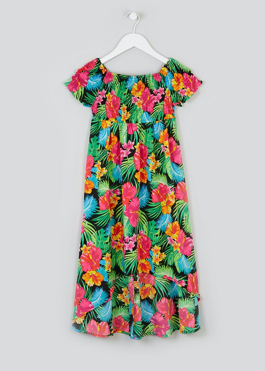 Girls Candy Couture Floral Maxi Dress (9-16yrs)