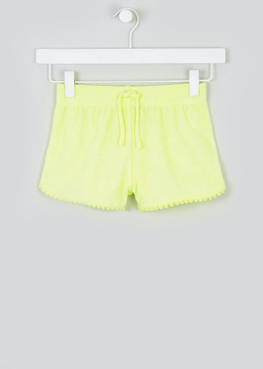 Girls Towelling Shorts (4-13yrs)